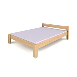 Basic bed with headboard DBB-130.1-140     | Letti infanzia | De Breuyn