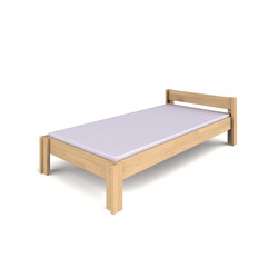Basic bed with headboard DBB-130.1   | Letti infanzia | De Breuyn