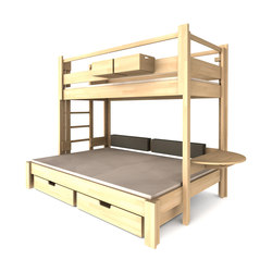 Twin-over-full DBB-301 | Children's beds | De Breuyn