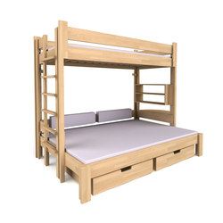 Twin-over-full DBB-303 | Kids beds | De Breuyn