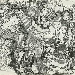 Doodle | Wall art / Murals | TECNOGRAFICA