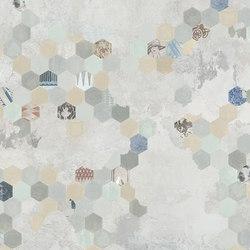 Esagona | Wall art / Murals | TECNOGRAFICA