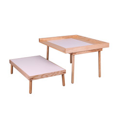 Kukua Kids | bench and table DBV-603 | Tavoli bambino | De Breuyn