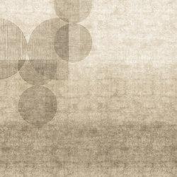 Geometric Disc | Bespoke wall coverings | GLAMORA