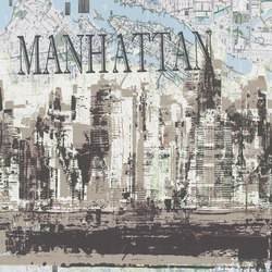Manhattan | Wall art / Murals | TECNOGRAFICA