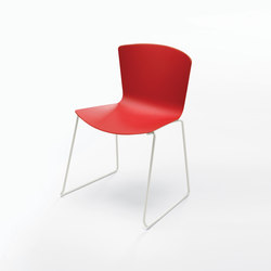 Slam Side Chair Sled Base | Kantinenstühle | Leland International