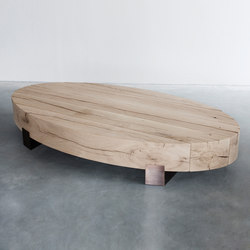 Beam limited oval coffee table | Coffee tables | Van Rossum