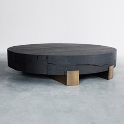 Beam limited round coffee table | Couchtische | Van Rossum