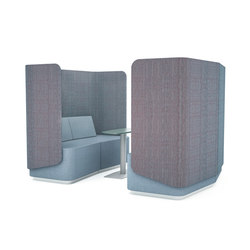 Organic Link Lounge Modules | Lounge-work seating | Viasit