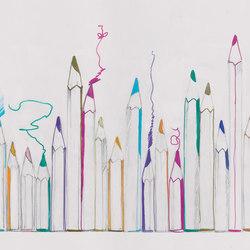 Pastel Scrape | Wandbilder / Kunst | TECNOGRAFICA