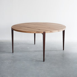 Wabi Sabi dining table round | Dining tables | Van Rossum