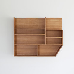 PLY 3 Series large wall unit | Shelving | Van Rossum