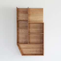 Ply 3 Series – Wall-Unit medium | Shelving | Van Rossum