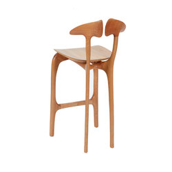 Swallowtail bar stool | Barhocker | Brian Fireman Design