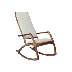 Jessamine rocking chair | Poltrone | Brian Fireman Design