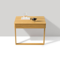 float bedside cabinet | Night stands | TEAM 7