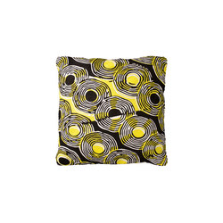 Disco Noir Citron | Cushions | Toulemonde Bochart