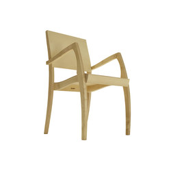 GH2 stackable chair with armrest | Chaises de restaurant | Sixay Furniture