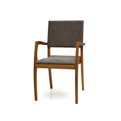GH2 stackable chair with armrest | Visitors chairs / Side chairs | Sixay Furniture