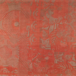 Jungle Corail | Rugs / Designer rugs | Toulemonde Bochart