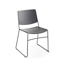 Link | Visitors chairs / Side chairs | Fornasarig