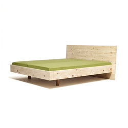Anna wood bed | Camas dobles | Sixay Furniture