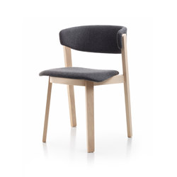 Wolfgang | WOR102 | Visitors chairs / Side chairs | Fornasarig