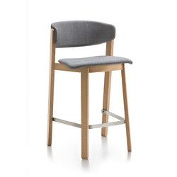 Wolfgang | WOR305 | Bar stools | Fornasarig