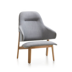 Wolfgang High Back Lounge | Lounge chairs | Fornasarig