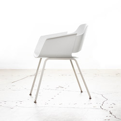 Paz l Chair | Visitors chairs / Side chairs | Stylex
