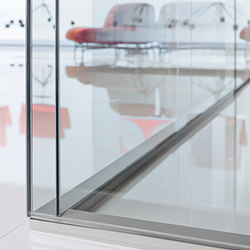 Partition W40 | Wall partition systems | Tecno