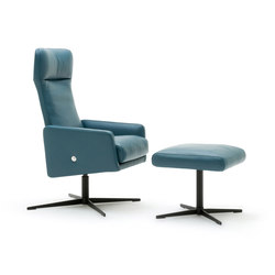 Rolf Benz 560 | Lounge chairs with footstools | Rolf Benz