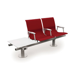 RS 2 | Beam / traverse seating | Tecno
