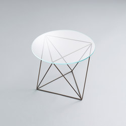 Dia | Glass End Table | Tavolini di servizio | Stylex