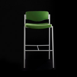 Welcome | Bar Stool | Half Back | Taburetes de bar | Stylex