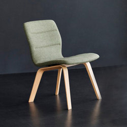 Butterfly Lounge wood | Fauteuils d'attente | Magnus Olesen