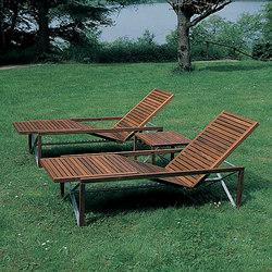 Xylofon Sunbed | Tumbonas de jardín | Magnus Olesen
