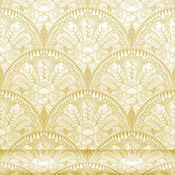 Florinda 122 Mostaza | Wall coverings / wallpapers | Equipo DRT