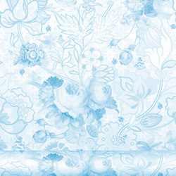 Berenice 335 Azul | Wall coverings / wallpapers | Equipo DRT