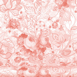Berenice 667 Borgoña | Wall coverings / wallpapers | Equipo DRT