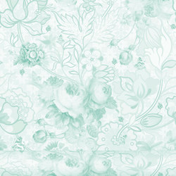 Berenice 447 Menta | Wall coverings / wallpapers | Equipo DRT