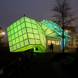 Eye Beacon | Textile buildings | MDT-tex