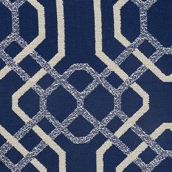 Alexandria | Indigo | Tappezzeria per esterni | Anzea Textiles