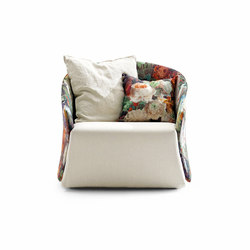 Bustier | Armchair | Sillones lounge | Saba Italia