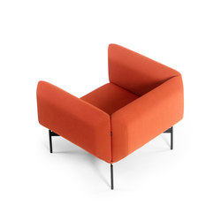 Segment armchair | Lounge chairs | Prostoria
