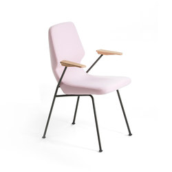 Oblique metal chair | Sedie | Prostoria