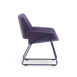 Monk easy chair metal | Sillones lounge | Prostoria