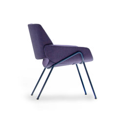 Monk easy chair metal | Lounge chairs | Prostoria
