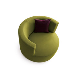 Chance | Armchair | Lounge chairs | Saba Italia