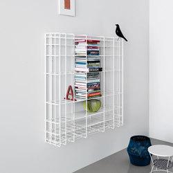 Leyva | bookcase | white | Étagères | Saba Italia